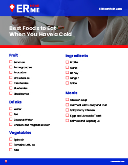 Best Foods to Eat With a Cold