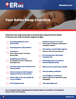 Download our Bedtime Checklist