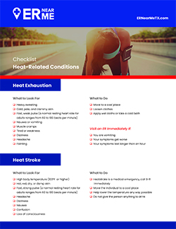 Download your free summertime heat checklist here!