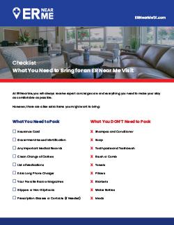 Preparing for Your ER Near Me visit Blog download offer